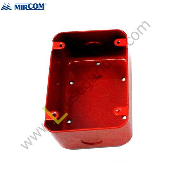 BB-700 Caja Backbox Surface Rojo 1