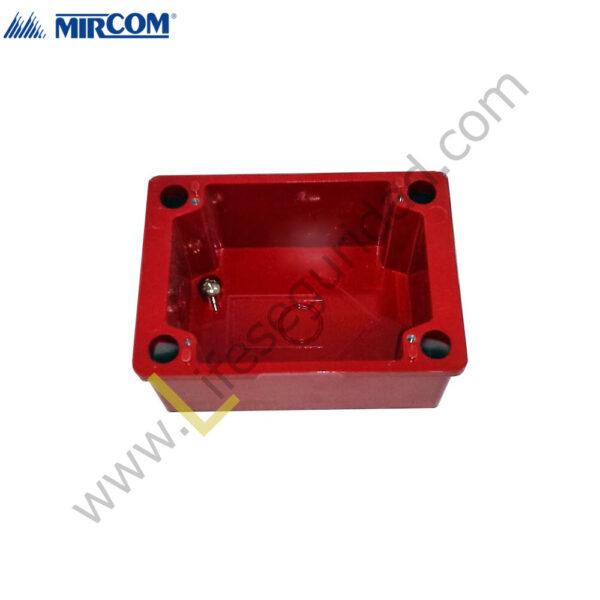 BB-700WP Caja BackBox Surface Weatherproof Roja 1