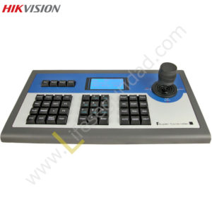 DS1003KI CONTROL 3D PARA DOMOS INTEGRADOS CON PANTALLA LCD CONTROLA DVR Y PTZ HIKVISION
