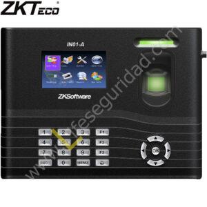 IN01A/ID Lector de huella digital + pin + T. Proximidad para control de acceso y asistencia c/fuente