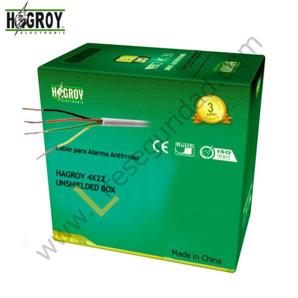 HG-4X22UN-300 Cable de alarma Hagroy 4X22 300m 1