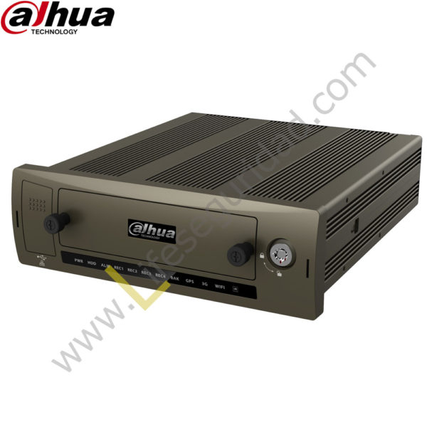 MCVR5104-GCW DVR Móvil 4ch ( Analogo 960H / HDCVI ) 04 Audio | H