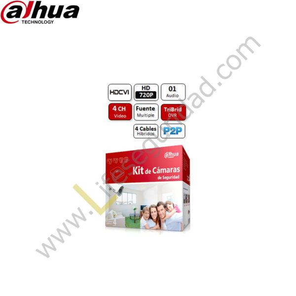 KIT-4CH-HDCVI-HDD KIT de 4 Cámaras – HDCVI 4Ch + HDD 1