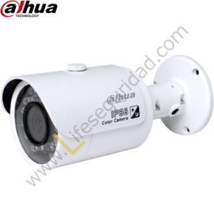 IPC-HFW1220S TUBO EXTERIOR   CMOS 1/2.7'' ICR   2.0 MP   1080P   IR: 30m   IP67   PoE