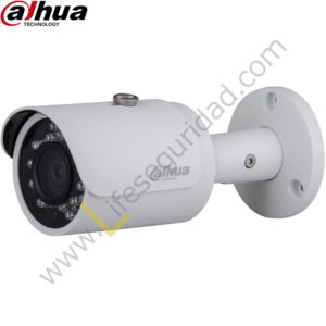 IPC-HFW1320SN-28 TUBO EXTERIOR | CMOS 1/3'' ICR | 3.0 MP | 1080P | 2.8mm | IR: 30m | IP67 | PoE