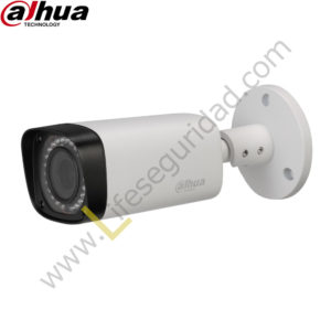 IPC-HFW2300RZ TUBO EXTERIOR | CMOS 1/3'' ICR | 3.0 MP | 1080P | IR: 30m | IP67 | PoE