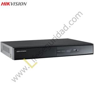 DS7216HVI-SH DVR 16CH / H.264 / RES. WD1 / SALIDA VGA/HDMI 1080P / SOPORTA 1HDD / DUAL STREAM