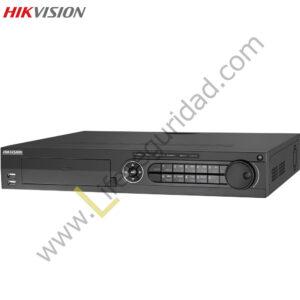 DS7308HGHI-SH DVR 8CH RESOLUCIÓN 720P (1280X720) HDMI, 4HDD, 4 CH AUDIO