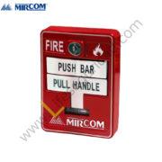 MS-710U Estación Manual Doble Accion con Llave de Seguridad