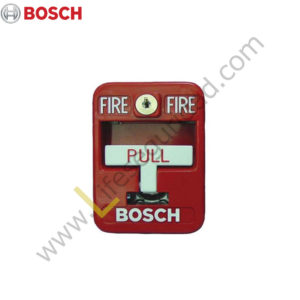 FMM-7045 PULSADOR MANUAL DE INCENDIO DIRECCIONABLE SIMPLE ACCIÓN MARCA BOSCH FMM-7045