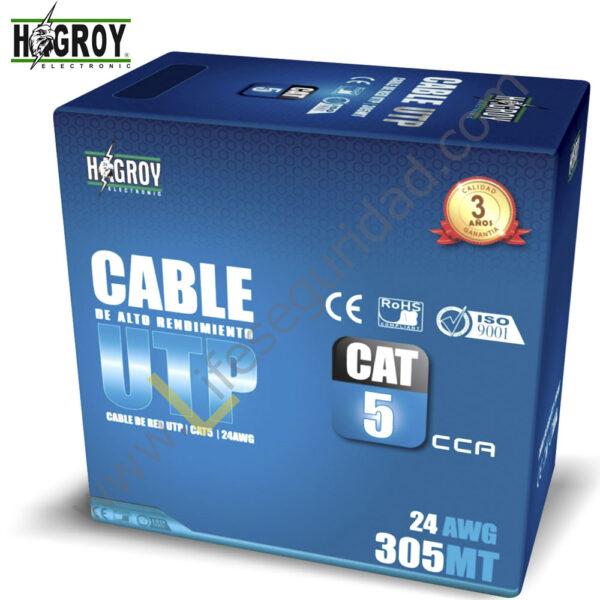 HG-CABUTP5E CABLE UTP – CAT 5E 1