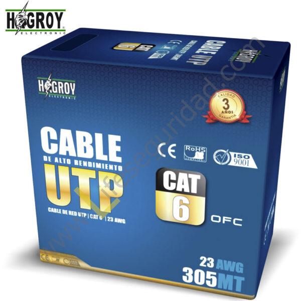 HG-CABUTP6 CABLE UTP – CAT 6 1