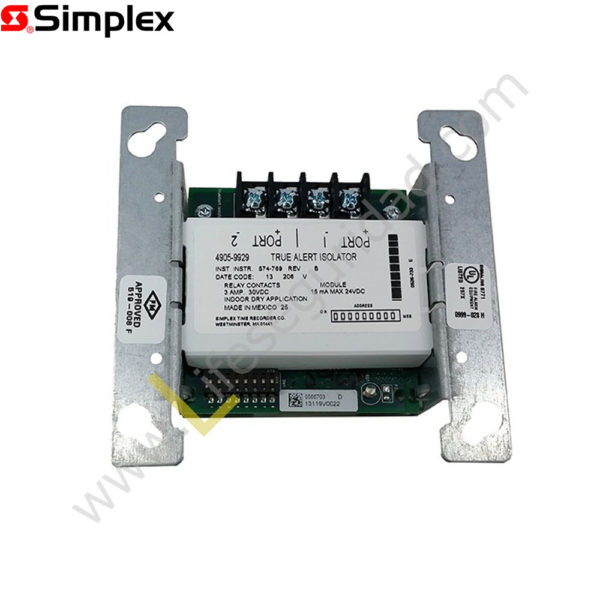 4905-9929 Módulo aislador de lazo IDNac 4905-9929 1