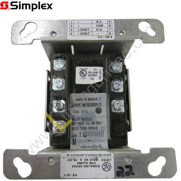 4090-9119 Módulo Relay IAM con feedback 4090-9119 1