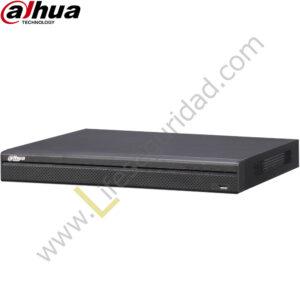 NVR4416-16P-4K NVR 16CH PoE | Hasta 12MP | TASA Bits 256Mbps | 2 HDMI/VGA | 4 HDD | ONVIF