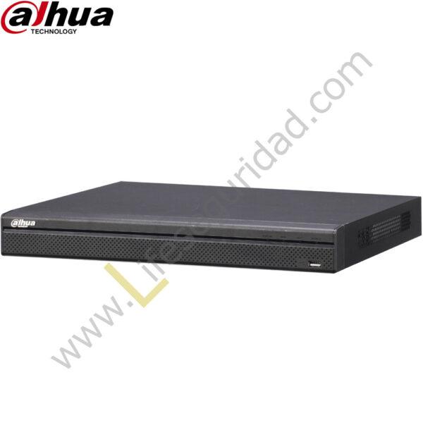 NVR5216-4KS2 NVR 16CH | Hasta 12MP | TASA Bits 320Mbps | HDMI/VGA | 2 HDD | P2P | ONVIF 1