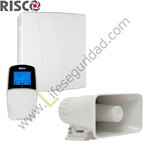 RP432M/CAB Kit Basico LightSYS 2 Risco – Cableado 1