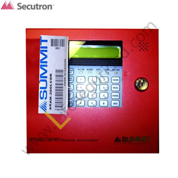 SRAM-200LCDR TECLADO REMOTO LCD PARA PANELES INTELIGENTES 1