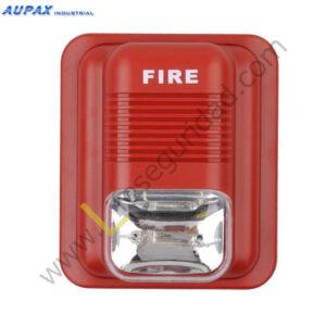 EPA-183 Sirena para alarma de Incendio con Luz LED