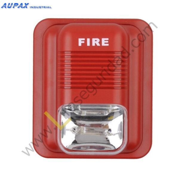 EPA-183 Sirena para alarma de Incendio con Luz LED 1