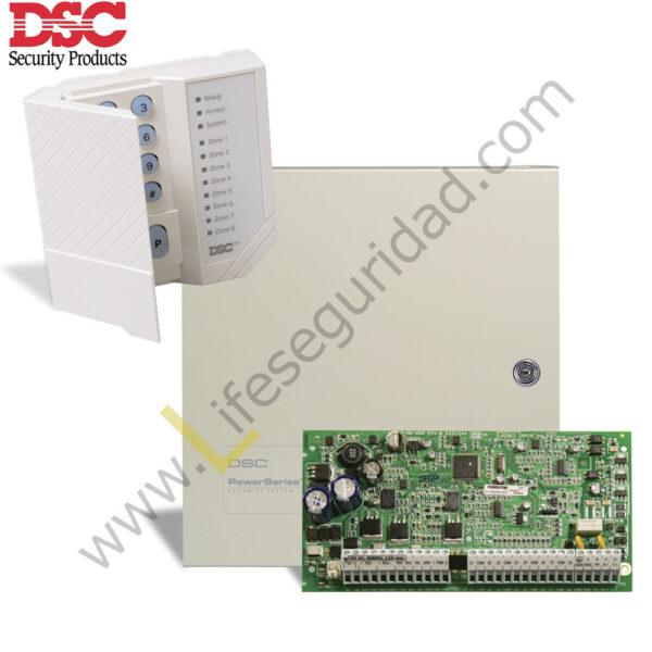PC1832-KIT KIT DE ALARMA 8Z PC1832 DSC 1
