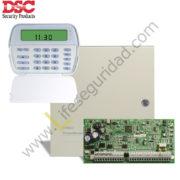 PC1832/PK5501 KIT DE ALARMA 8Z PC1832ICON DSC