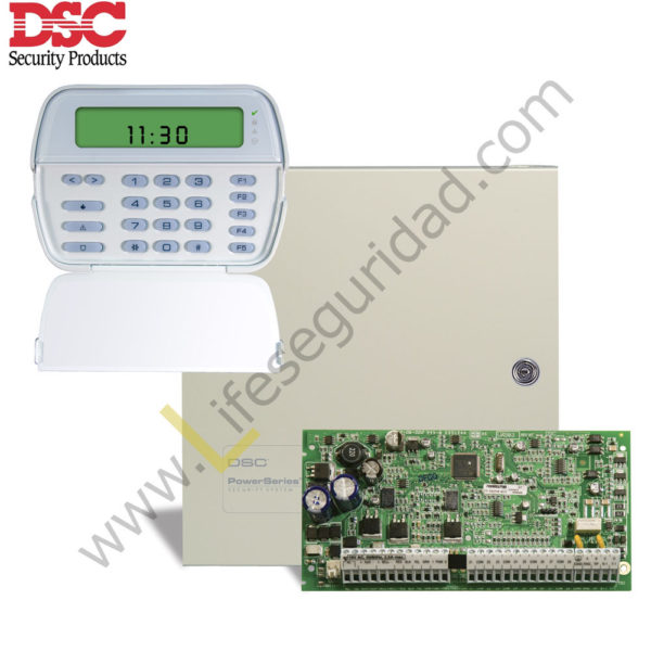 PC1832-PK5501 KIT DE ALARMA 8Z PC1832ICON DSC 1