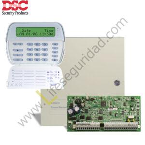 PC1832/PK5500 KIT DE ALARMA 8Z PC1832LCD DSC
